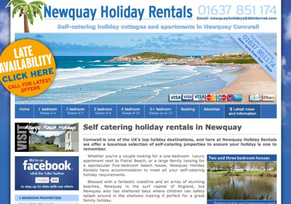 Newquay Holiday Rentals