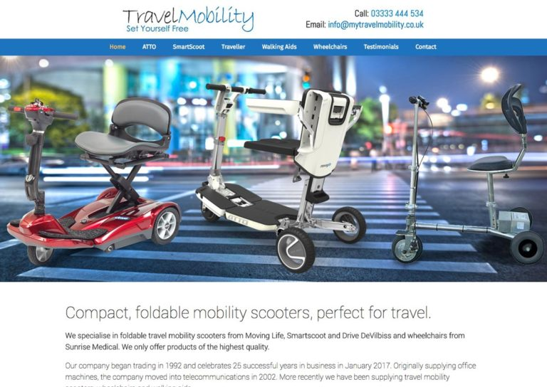 Mytravel screen | Website Design Southport by Leeming Design