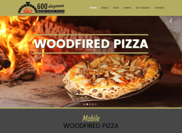 600 Degrees | Website Design Southport by Leeming Design