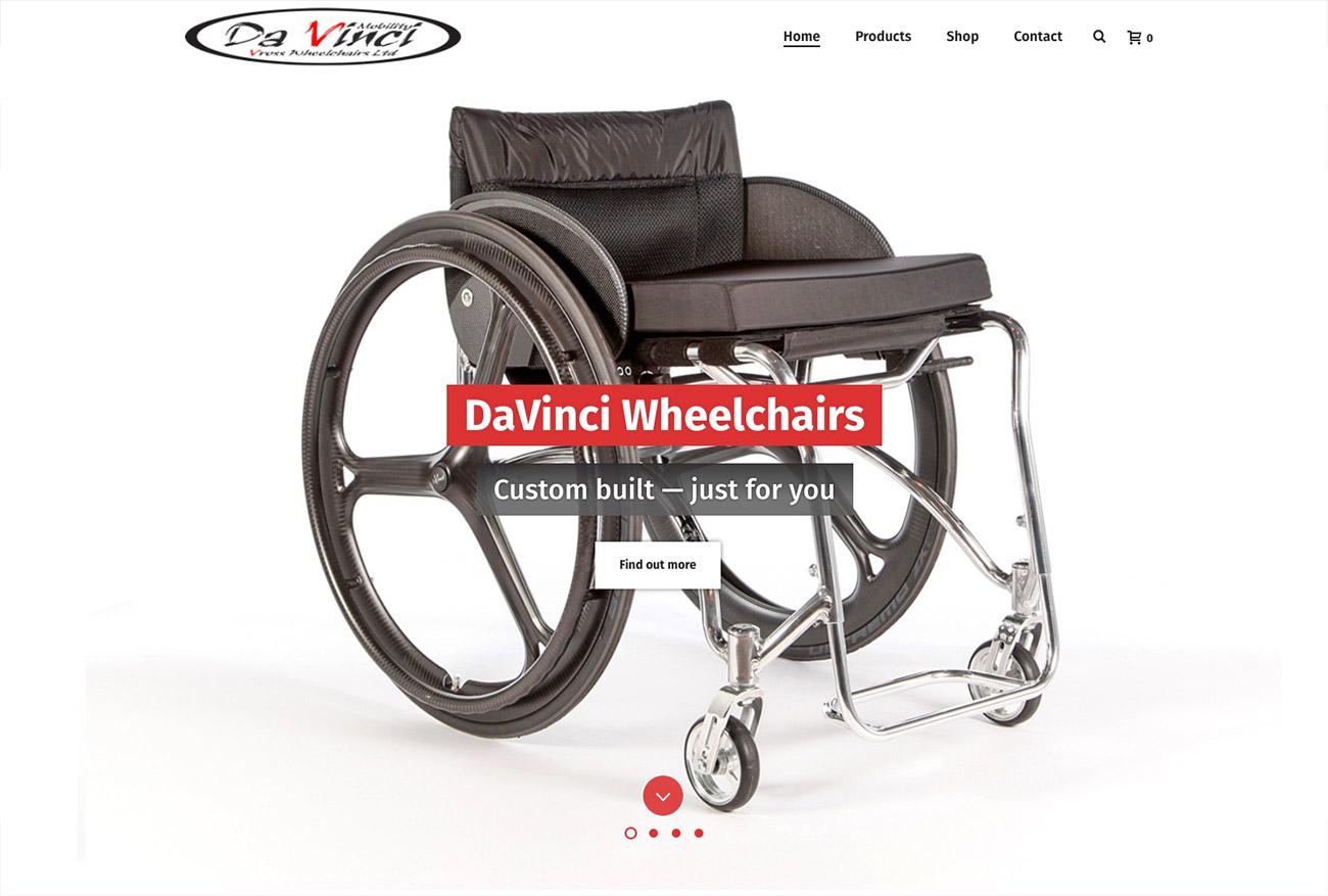 Davinci Wheelchairs Leeming Design
